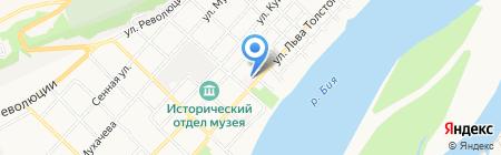 Бюро №19 на карте Бийска