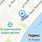 Городской психиатрический диспансер на карте Бийска