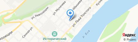 АГАО на карте Бийска