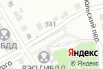 Схема проезда до компании АвтоГарант в Бийске