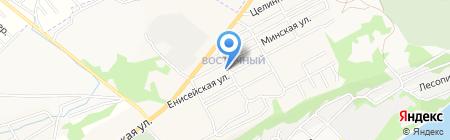На Енисейской на карте Бийска