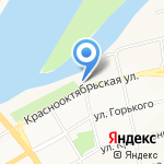 АлтайЛига на карте Бийска