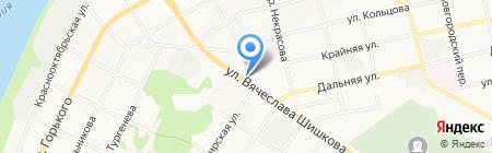 Ёшкина Кошка на карте Бийска