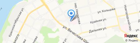 Детская туберкулезная больница на карте Бийска