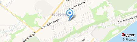 Дом детского творчества №1 на карте Бийска
