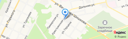 Кузнец на карте Бийска