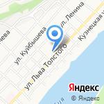 Средняя общеобразовательная школа №15 на карте Бийска