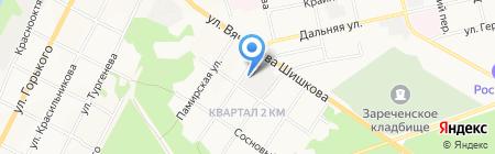 Автоцентр+ на карте Бийска