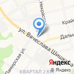 АЛТ АВТО на карте Бийска