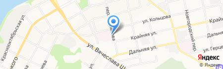 Поликлиника на карте Бийска