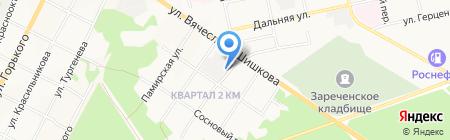 Уют + на карте Бийска