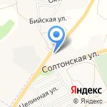 Русь на карте Бийска