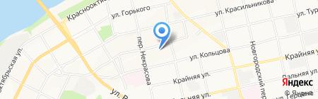Экскорт на карте Бийска