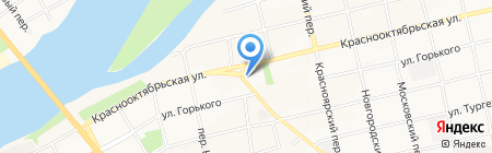 Мастерская по ремонту и пошиву одежды на карте Бийска