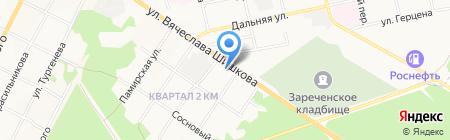 RENAULT на карте Бийска
