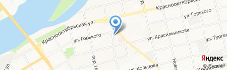 Бийский прибороремонтный участок на карте Бийска