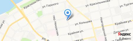 Церковь Евангельских Христиан-Баптистов на карте Бийска