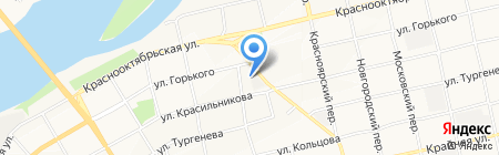 УФМС на карте Бийска