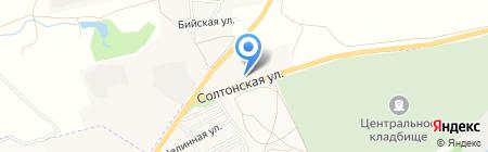 Люкс на карте Бийска