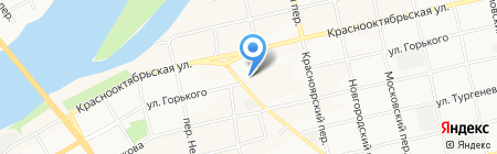 Почтовое отделение №30 на карте Бийска