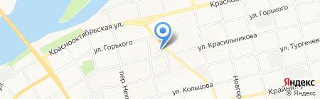 Гарт на карте Бийска