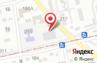 Схема проезда до компании Типография  в Бийске