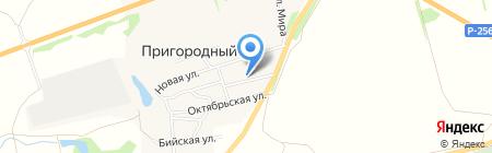 Корзинка Малоенисейское-10 на карте Бийска