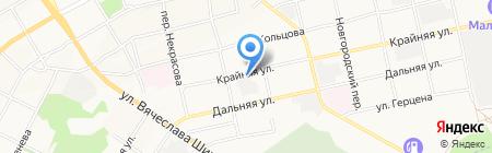 Слар на карте Бийска