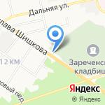 Вианор на карте Бийска