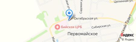 Продуктовый магазин на карте Студенческого