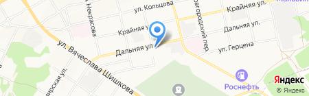 МоторТест на карте Бийска