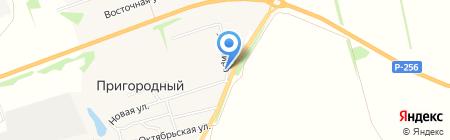 Алена на карте Бийска