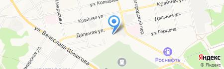 Стелс на карте Бийска