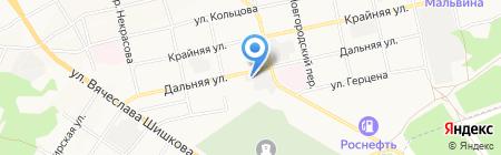 Совтехавто на карте Бийска
