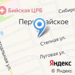 Первомайская средняя общеобразовательная школа №2 на карте Бийска