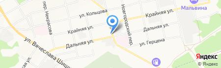 Камаз-Мастер на карте Бийска
