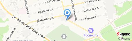 Рубеллитстрой на карте Бийска