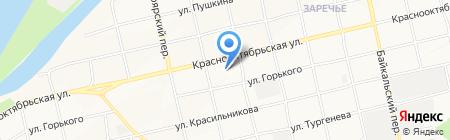 ЭКОС на карте Бийска