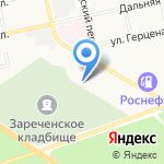 ГАЗ-ОЙЛ на карте Бийска