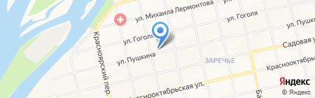 НТСК на карте Бийска