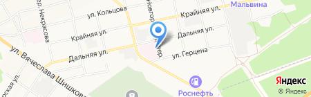 Центр реабилитации слепых им. М.Н. Наумова на карте Бийска