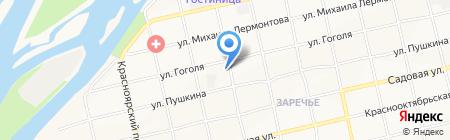 Автошкола на карте Бийска