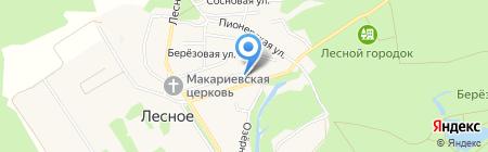 Корзинка-Лесное на карте Амурского