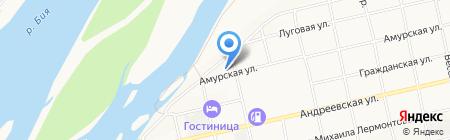 Осирис на карте Бийска