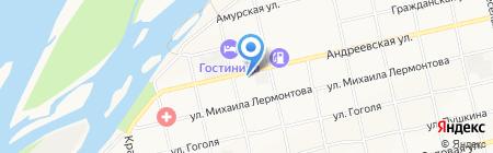 Храм Сретения Господня на карте Бийска