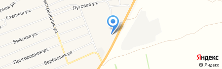 Пункт технического осмотра транспорта на карте Бийска