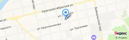 Столярный цех на карте Бийска