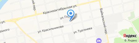 Алтай-профессионал на карте Бийска