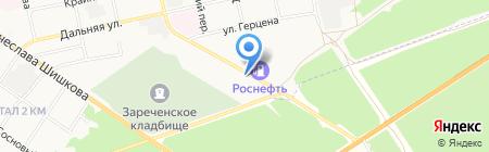 Столовая №1 на карте Бийска
