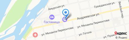 АЗС Ника на карте Бийска